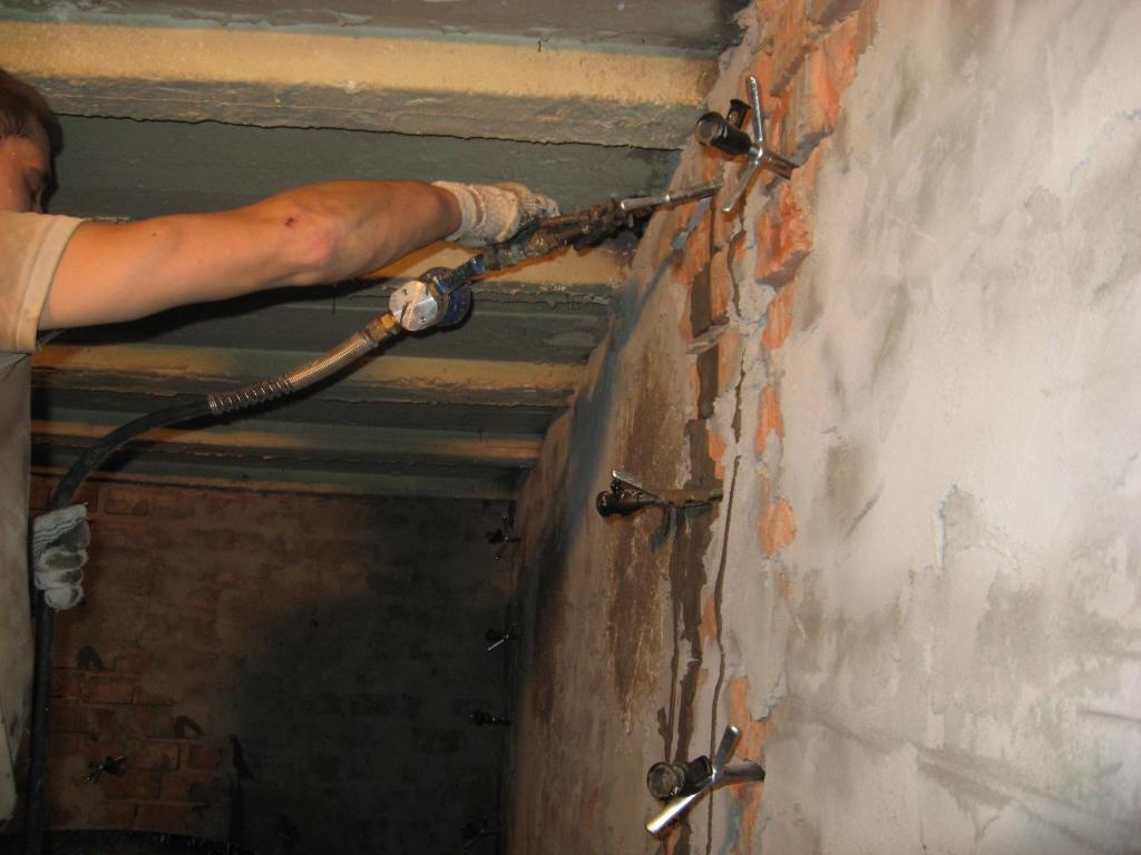 Инъектирование бетона своими руками 1
